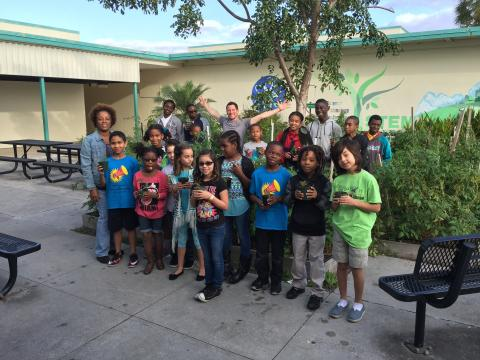 parkway middle school of the arts the edible schoolyard project